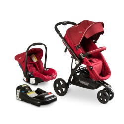 Coche Travel System Compass Elite 5150 Rojo
