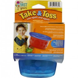 Pack 6 contenedores alimentos 236CC Take & toss