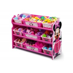 Multi Organizador Minnie Mouse 9 cajas