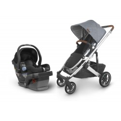 Travel System UPPAbaby Cruz V2 Gregory - silla mesa jake