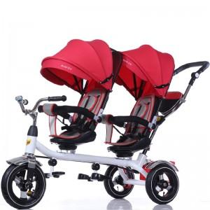 Triciclo doble 360 Rojo, CoBaby