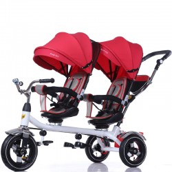 Triciclo doble Ride On 360 Rojo, CoBaby