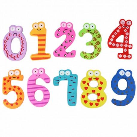 Abecedario mas números magneticos
