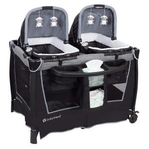 Cuna Para gemelos o mellizos Shale baby Trend
