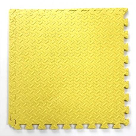 Pack 20 gomas eva amarilla 62x62x2.5 cm