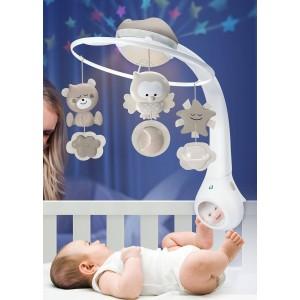 Movil Proyector 3 en 1 Infantino Beige