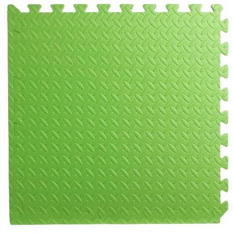 Pack 4 gomas eva 62x62x2.5 cm verde