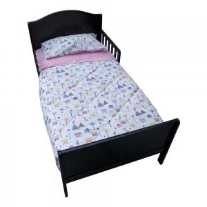 Set para cama de transición Niña elefanta de 4 piezas Pellitos