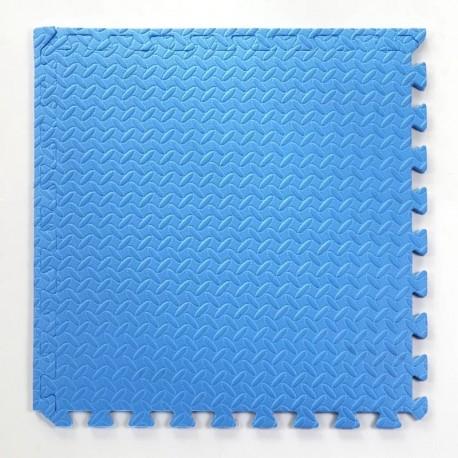 Pack 10 gomas eva 62x62x2.5 cm 3 colores.