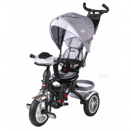 Triciclo trike bebesit 1315GN Gris 360