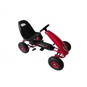 Gokart Bolt Auto pedales Bebesit 5040 Rojo