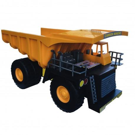 Camión Minero Chuquicamata Amarillo