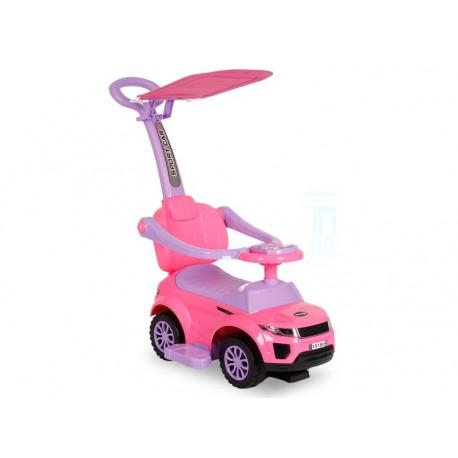 Correpasillos 3 en 1 sport rosado con toldo