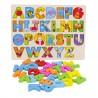 Alfabeto Cognitivo madera multicolor