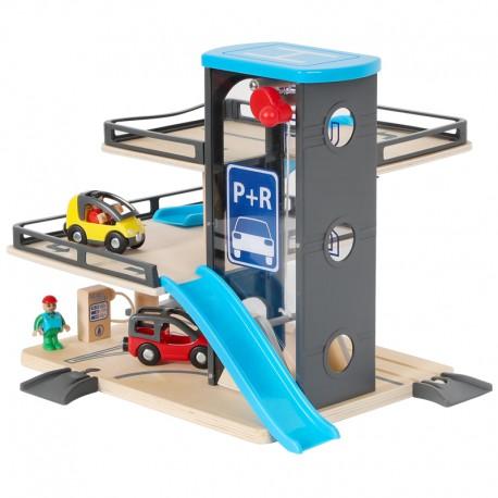 Parking y Garage didactico 3 pisos