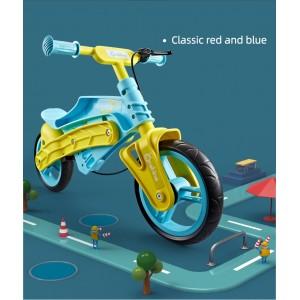 Bicicleta de aprendizaje Navigator verde.