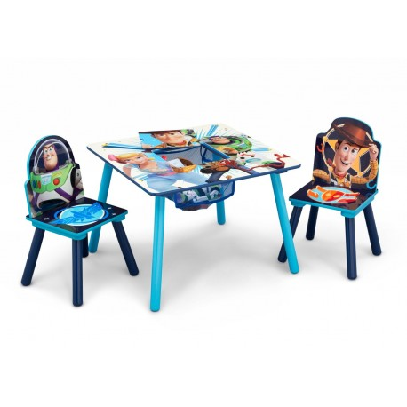Mesa con 2 sillas Toy Story