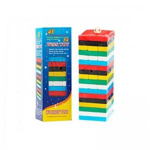 Jenga Clasico 54 piezas de colores