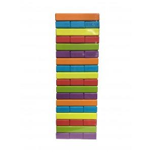 Jenga Madera Multicolor 54 piezas