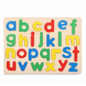 Alfabeto Cognitivo multicolor de madera